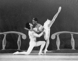 "Irina Lebedeva and Andrei Bossov performing in ""The Sleeping Beauty"""